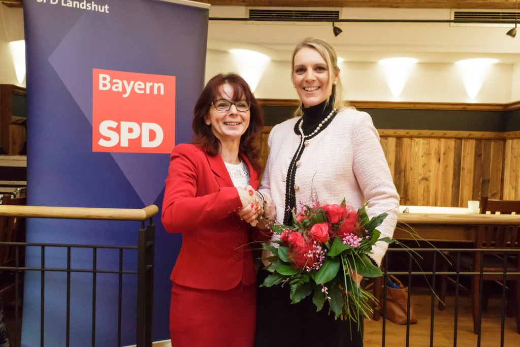 Patricia Steinberger: Nominierung zur OB-Kandidatin 2016.