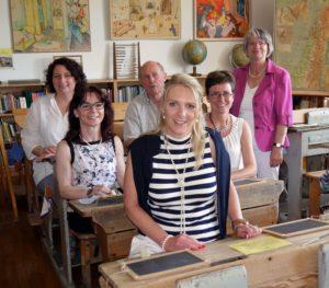 Besuch Schulmuseum Essenbach Patricia vorne