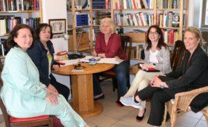 Besuch mit Angelika Weikert im Quartiersladen