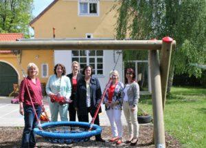 Besuch mit Angelika Weikert in der Villa Maria