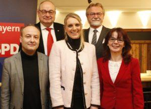 Harald Unfried, Gerhard Wick, Patricia Steinberger, Robert Gewies, Anja König