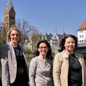 Patricia Steinberger, Anja König und Ruth Müller